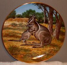 W.L.George The Bridled Wallaby Collectors Plate 1990 by Will Nelson