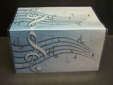MUSIC NOTES    VINYL CHECKBOOK COVER