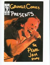Grunge Comics Presents #2 THE PEARL JAM STORY NM with poster!