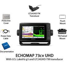 Garmin ECHOMAP UHD 73cv Chartplotter/Fishfinder with GT24UHD-TM 010-02334-01