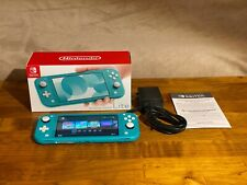 *Great Condition* Nintendo Switch Lite Console - Turquoise Barely Used CLEAN