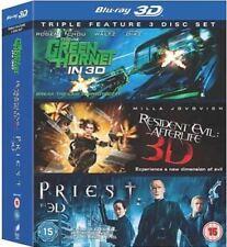 Películas en DVD y Blu-ray acciones blu-ray Resident Evil