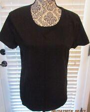 Kim Rogers T-shirt Scoop Neck Cotton Spandex Short Sleeves SzM