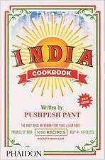 India: The Cookbook New Hardcover Book Pushpesh Pant