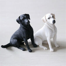 JJM Labrador Retriever Dog Pet Figure Animal Model Collector Decor Kid Toy Gift