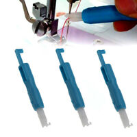 3 Pieces Sewing Needle Inserter Threader Threading Tool for Sewing Machine ly