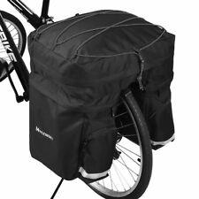 WOZINSKY Fahrradtasche Fahrradlenkertasche Gepäckträger Gepäckträgertasche 60L