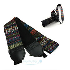 Vintage Camera Shoulder Neck Strap Belt For SLR DSLR Nikon Canon Sony Panasonic