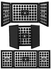Harley-Davidson® Tri-Fold 88 Poker Chip Collectors Black Display Frame 6973D
