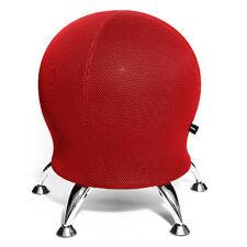 Hocker Sitzball Schreibtisch Stuhl Rückentrainer Topstar Sitness 5 rot B-Ware