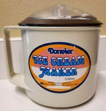 Donvier Chillfast Ice Cream Maker Manual Handcrank Made In Japan