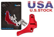 Red Billet Anodized Case Saver Chain Guard For Yamaha YFZ450 2004-2013 Aluminum