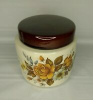 Vintage McCoy Pottery 214 8 Inch Canister Ceramic Cookie Jar USA