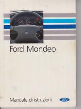 F043-Libro  Istruzioni MANUALE FORD Mondeo ANNI '90