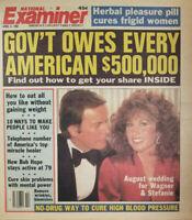 National Examiner April 6 1982 Robert Wagner Stefanie Powers - Herbal Pleasure