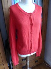 Aubin & Wills chunky knit cardigan jumper S 12 VGC  Jack cashmere
