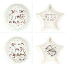Ceramic Jewellery Trinket Dish Unicorn Design or Friends are like Stars Gift Box