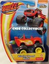 NEW Nickelodeon Blaze & The Monster Machines *BLAZING SPEED BLAZE* diecast truck