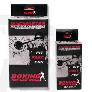 RingMaster Boxing Reflex Ball Head Speed Punch Kickboxing MMA Martial Focus
