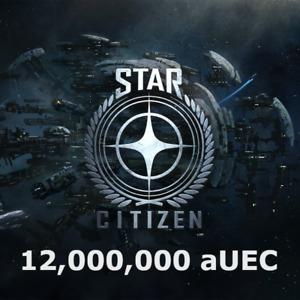 Star Citizen 12,000,000 aUEC (Alpha UEC)