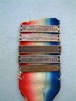 WW1 MEDAL RIBBON CLASP or BAR for THE MONS STAR 1914 1918 FIRST WORLD WAR