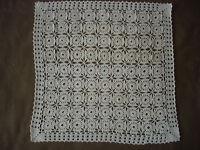 #563  Beautiful Vintage Handmade Tablecloth   44cm/44cm(17''/17'')
