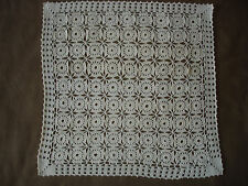 #563  Beautiful Vintage Handmade Tablecloth   44cm/44cm(17''/17'')