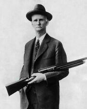 Firearms Designer John Moses Browning, New Restored Satin Finish Photo - 5 Sizes