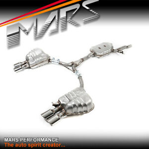 MARS Dual Outlet Twin Muffler Exhaust Cat-Back for AUDI A5 Coupe 1.8T 2.0T