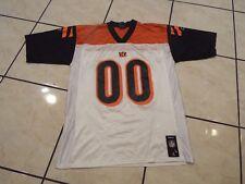 NFL Reebok Mens Cincinnati Bengals Fan #00 Football Jersey