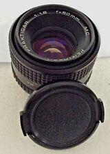 Pentacon Prakticar 50mm f/1.8 Prime Camera Lens Fits Praktica PB Mount