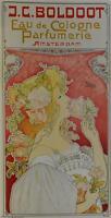 J.C. Boldoot Eau de Cologne Poster Fine Art Lithograph Henri Privat Livemont S2