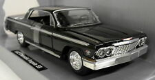 Newray 1/25 Scale 71843 1962 Chevrolet SS Impala Black Diecast model car