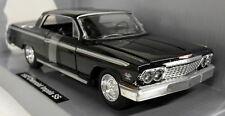 Newray 1/25 Scale 71843 1962 Chevrolet SS Impala Black Diecast model car