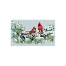 Dimensions Cross Stitch Kit - Winter Cardinals Birds