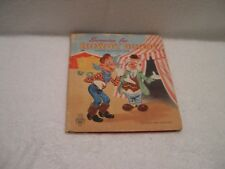 Vintage Antique 1951 Tell-A-Tales SURPRISE FOR HOWDY DOODY Hard Cover Child Book
