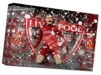 Liverpool Virgil Football Picture Photo Print On Framed Canvas Wall Art Home