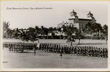 Spar Training School Military Palm Beach Florida FL RPPC Photo Postcard A23