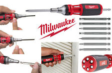 Milwaukee 10-en-1 Multi embouts Tournevis À Cliquet PROMOTION