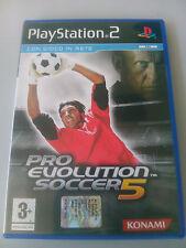PES 5 Pro evolution soccer 2005 - PS2 - Playstation 2