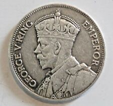 2 Shillings George V Southern Rhodesia Year mark error or damage? silver Coin