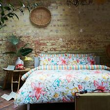Kingsley Home Bali Floral Flowers Percale Polycotton Single Duvet Cover Bed Set