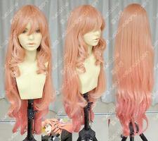 AKB0048 Haruna Kojima long gradual change curls Cosplay Wig