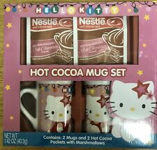 Brand New Sealed Hello Kitty Hot Cocoa Mug Gift Set