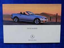 Mercedes-Benz SLK Roadster R170 - Prospekt Brochure 04.2000