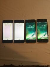 LOT OF 4 WHITE VERIZON CDMA + GSM UNLOCKED APPLE iPhone 5C 16GB PHONES