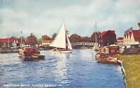 Wroxham Bridge River Boats Bateaux Norfolk Broads