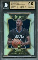 2014-15 select prizms silver #293 ANDREW WIGGINS rookie BGS 9.5 (9.5 10 9.5 9.5)