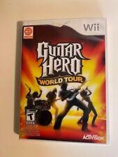 Guitar Hero: World Tour (Nintendo Wii, 2008) CIB FAST SHIP