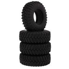 """115mm Rubber Tires Tyres for 1/10 RC Rock Crawler Climbing Car 1.9"""" Wheel"""